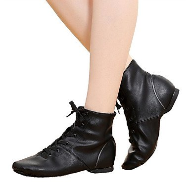 Wuyulunbi@ Donna Jazz Pieno Sole Sneaker Professional tacco piatto nero,Black,noi4-4.5 / Eu34 / UK2-2.5 / CN33 Noi11 / EU43 / UK9 / CN44
