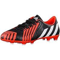 hot sale online 08f5d aae9f Adidas Predator Absolado Instinct FG Scarpe da Calcio Ragazzo, Unisex  Bambino, BLACK1 CHALK2