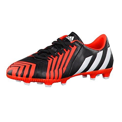 adidas Predator Absolado Instinct FG niños-Botas de fútbol blanco/negro/rojo Solar, core black/ftwr white/solar red, 37 1/3