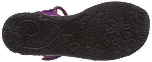 Ricosta Gundi, Sandales Plateforme fille Purple (Violett 360)