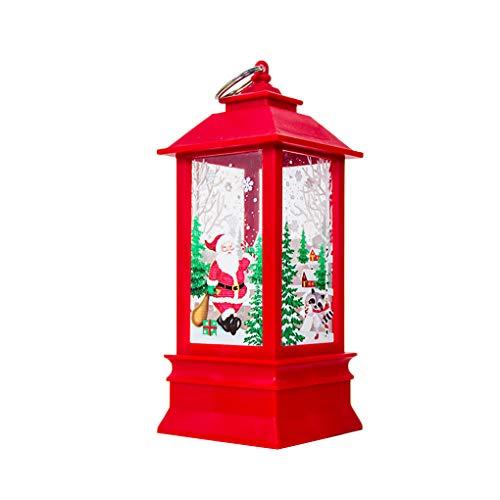Babysbreath17 Navidad Santa Claus muñeco de Nieve de la decoración de la...