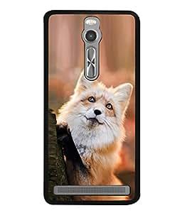 Snapdilla Designer Back Case Cover for Asus Zenfone 2 ZE551ML (Protrait White Red Cute Wallpaper Quality Zoo)