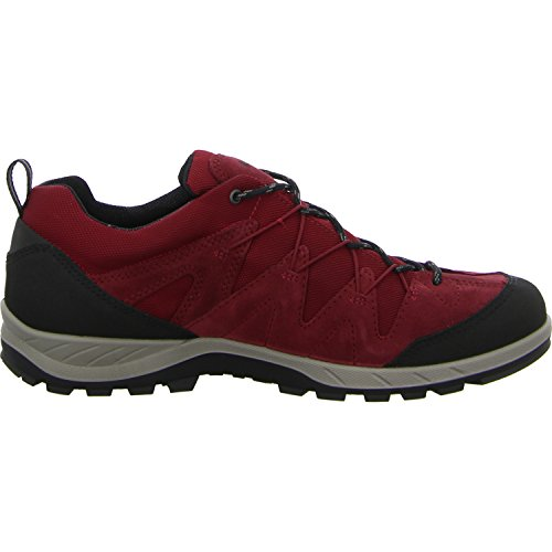 Ecco Herren Yura Outdoor Fitnessschuhe Rot (Black/Brick)