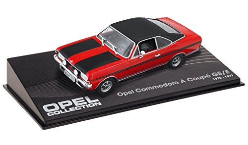 OPEL COMMODORE A coupé GSE ROUGE Echelle 1:43 -réf 01 Rouge Coupe
