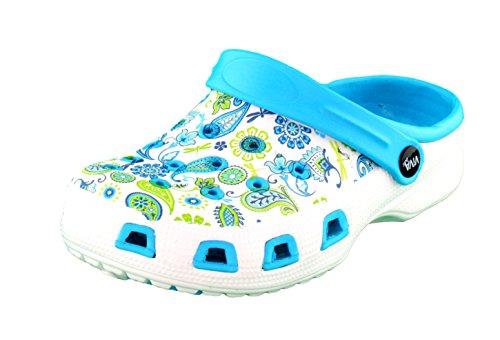 brandsseller   Zuecos de Material Sintético para hombre, color Azul, talla 37 EU