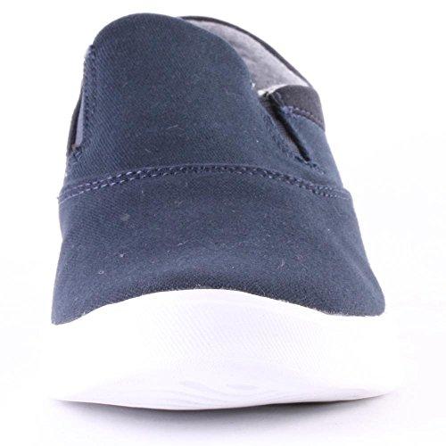 Etnies  CORBY SLIP SC, Chaussures de Skateboard homme Navy White