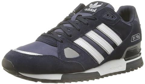 adidas ZX 750, Unisex-Erwachsene Sneakers, Blau (New Navy FTW/White/Dark Navy), 44 2/3 EU (10 Herren