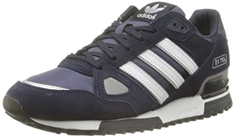 adidas ZX 750, Unisex-Erwachsene Sneakers, Blau (New Navy FTW/White/Dark Navy), 44 2/3 EU (10 Herren UK)