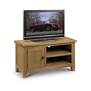 Julian Bowen Light Astoria TV Unit, Wood, Oak