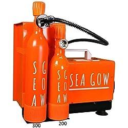Seagow Compresseur Adulte Unisexe, Portatif Noir