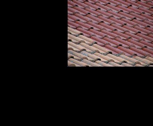 1L Ziegelfarbe Dachfarbe Dachbeschichtung Dachversiegelung in Tiefschwarz Dachrenovierung Metalldach Blechdach Flachdach Farbe Beschichtung Anstrich Ziegel Dach