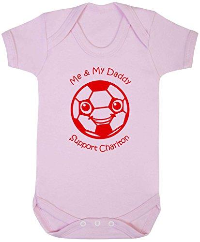 CHARLTON ATHLETIC Football BABYGROW//Vest//Bodysuit//Romper Cute Personalised Gift