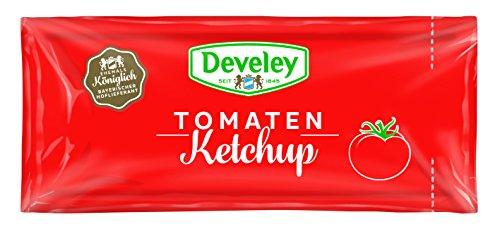 DEVELEY Tomaten Ketchup, 150er Pack (150 x 20 ml)