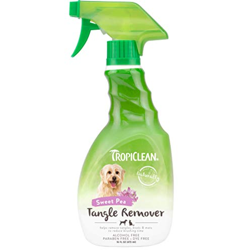 TROPICLEAN 0645095160002-Tangle desenredante 473 ml
