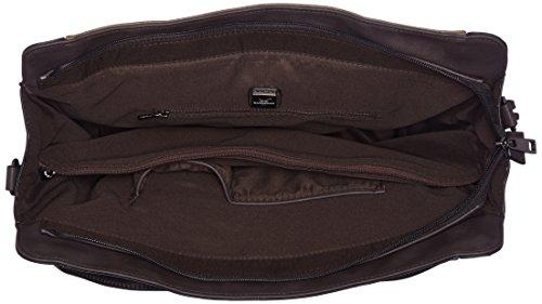 Sansibar - Zip Bag, Borse a secchiello Donna Marrone (Mud)
