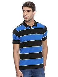 Proline Mens Black Striper Polo (8907007551011)