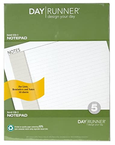 Lined Note Pad Refills, 8-1/2