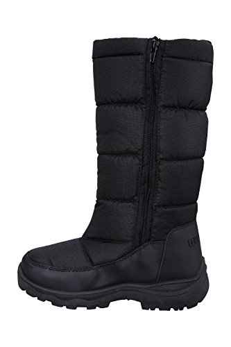 Mountain Warehouse Icey Womens Long Snow Boots Nero
