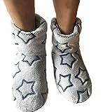 Winterschuhe Warme Plüsch Socken Strumpf Baumwolle Super Soft Home Indoor Weihnachten Frauen Stiefel Hausschuhe