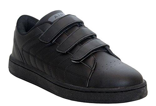 Airtech, Sneaker uomo Black/Velcro