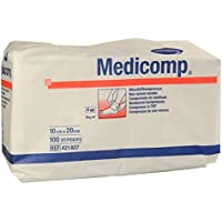 MEDICOMP Kompressen 10x20 cm unsteril 100 St Kompressen preisvergleich bei billige-tabletten.eu