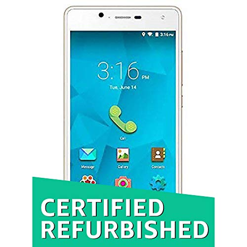 (CERTIFIED REFURBISHED) Micromax Canvas Unite 4 Q427 - Champagne