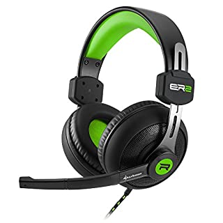 Rush ER2 Stereo Gaming Headset grün