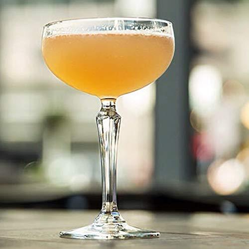 LKOBN Champagner Tasse Glas Schmetterling Retro Cocktail Weithals Martini Glas Bar Bartending Restaurant Geschenk Hause Persönlichkeit Wein