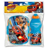 Blaze And The Monster Machine - Set botella sport y sandwichera rectangular (Stor 85976)