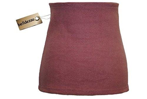 3 in 1 : Fleece - Nierenwärmer Mann XXXL uni altrosa pink Shirt Verlängerer / modisches Accessoire