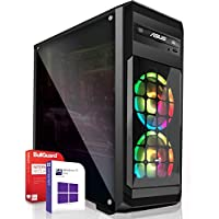 AMD Ryzen 5 3600 6X 4.2 GHz PC System Gaming 16 GB DDR4 RAM 3200 MHz ASUS A320 512 GB SSD NVIDIA GeForce GTX 1660 6GB 4K Win 10