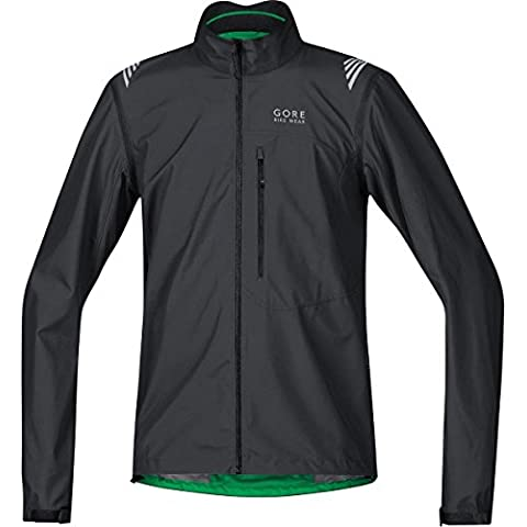 GORE BIKE WEAR, Giacca ciclismo Uomo, Leggera, Maniche staccabili, GORE WINDSTOPPER Active Shell, ELEMENT WS AS Zip-Off Jacket, JWAELM