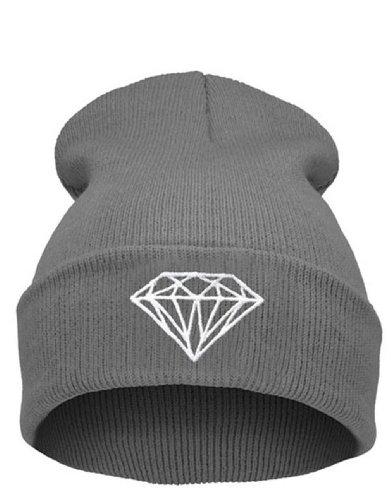 Beanie diamond gray Hat