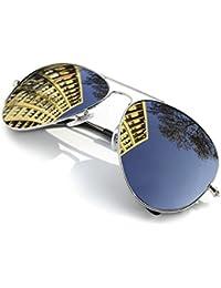 4sold Sonnenbrille Fliegerbrille Pornobrille in vielen Farbkombinationen Klassische Pilotenbrille Unisex Sonnenbrille