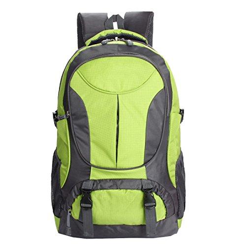 Yy.f Outdoor-Sporttasche Reiseschulterbeutel Freizeit Wandern Taschen Camping Bergsteigen Taschen Computer-Student-Kits. Multicolor Green
