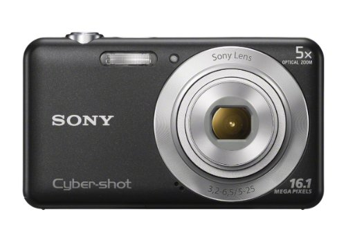 Sony Cybershot W Series DSC-W710/B Point And Shoot Camera Black