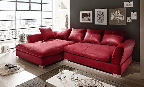 Reboz Big Sofa Ecksofa Kunstleder in Verschiedenen Farben und Ausrichtungen
