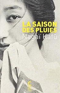 La saison des pluies par Kafū Nagai