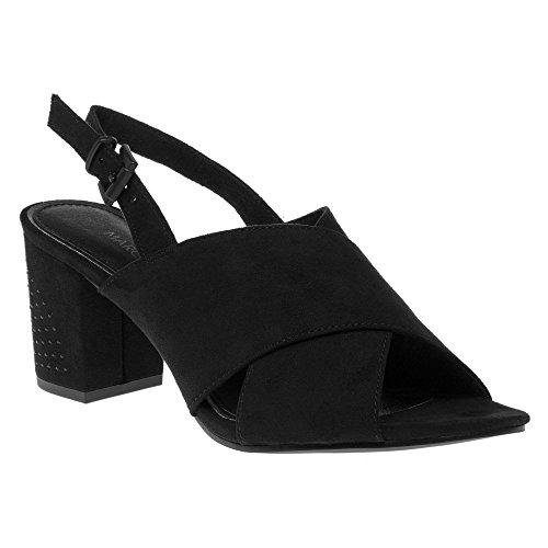 Marco Tozzi 28385 Femme Sandales Noir Noir