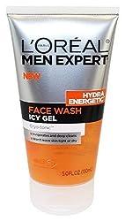 Loreal Hydra Energetic Face Wash Icy Gel Cryo-tonic, 5 Fl Oz
