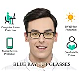 Aferelle® Silvercare Blue Cut glasses with UV420 and Anti-Reflection Protection for Healthy Eyes (SILVERCARE   medium)
