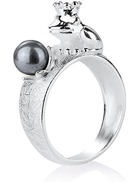 Heartbreaker Damen-Ring Froggy 925 Sterlingsilber - LD FG 12 PW-G