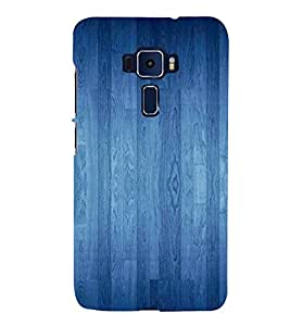 ifasho Designer Back Case Cover for Asus Zenfone 3 Deluxe ZS570KL (5.7 Inches) (Google Earth Emma Watson Fakes Wood O Plast Dart Board)