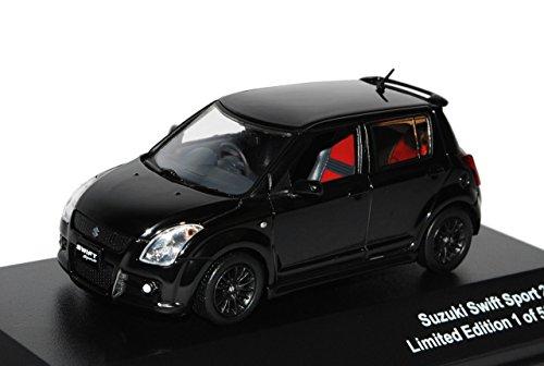 Suzuki-Swift-MZEZ-Sport-Schwarz-2005-2010-limitiert-1-von-600-Triple-9-143-Ixo-Modell-Auto-mit-oder-ohne-individiuellem-Wunschkennzeichen