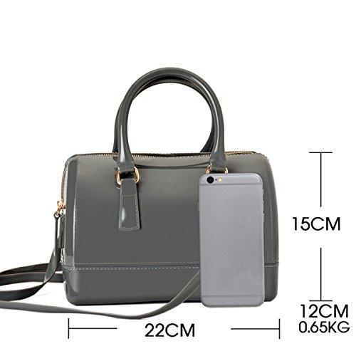 Schwarz Handtasche Messenger Boston Tasche Europa Und Den Vereinigten Staaten Mode Handtaschen Medium Umhängetasche Kissen Geleebeutel Darkgreen