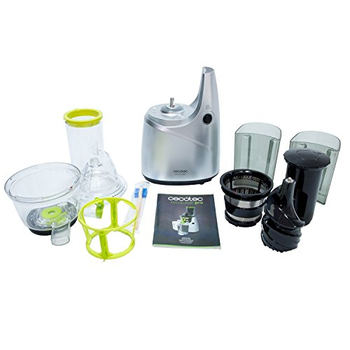 Best Slow Juicer For Fruits : Slow Juicer for Fruit and vegetables, Cold Press Juice Extractor with an XL Mouth for Whole ...