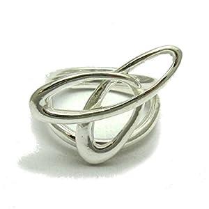 Extravagant sterling silber ring 925 Empress Einstellbare Größe