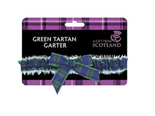 682c8f348 Thistle Products Ladies Black Watch Green Tartan Garter