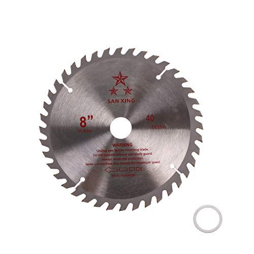 zhoujinf Sägeblatt für Motorsense/Trimmer/Bohrung 25,4 mm