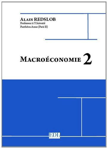 Macroéconomie 2